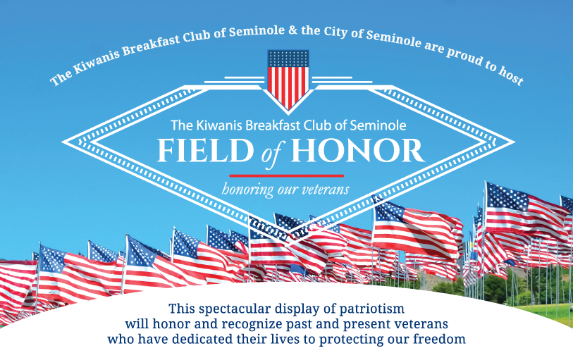 Kiwanis Club of Seminole Breakfast Field of Honor